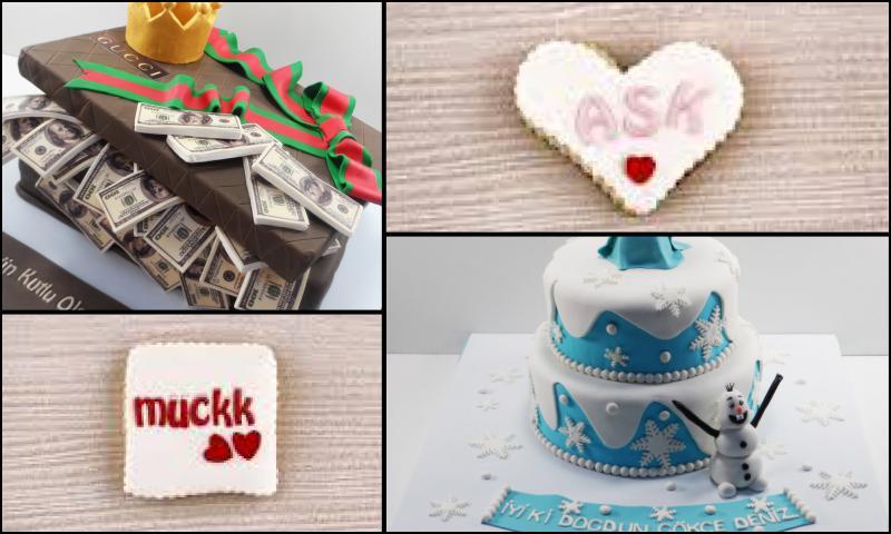 Çocuklara Özel Doğum Günü Pastaları