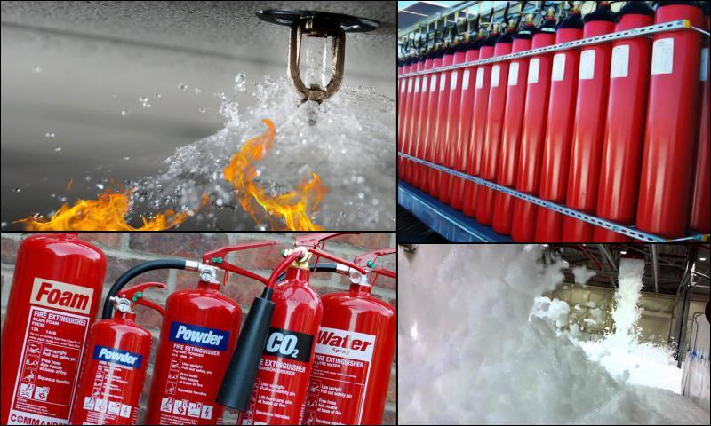 Yangın Söndürme İçin Kullanılan Sistem ve Cihazlar