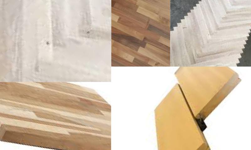Oak Finger Jointed Panel – Meşe Parmak Eklemli Panel