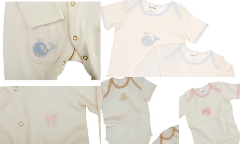 Organik Pamuktan Üretilmiş Yenidoğan Bebek Setleri