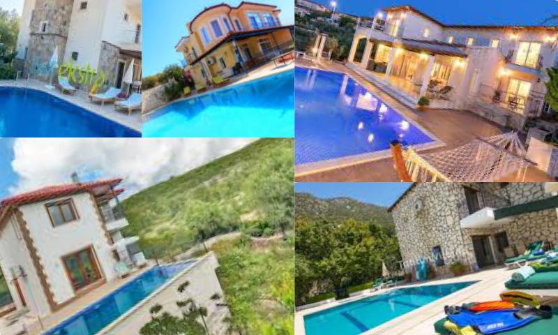 Antalya Kaş'ta Kiralık Villa